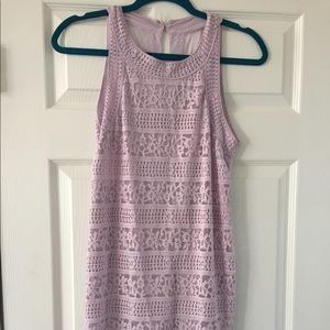Urban outfitters lace lilac body con, worn once!